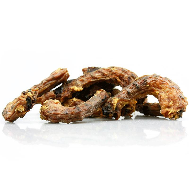 Snack natural perro cuello de pollo