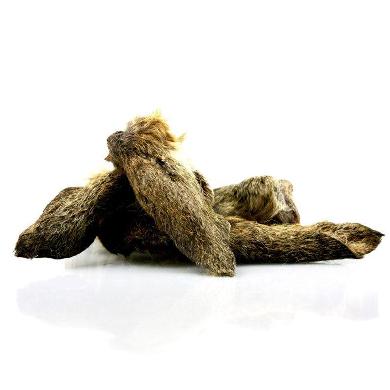 Snack natural perro oreja de ciervo peluda