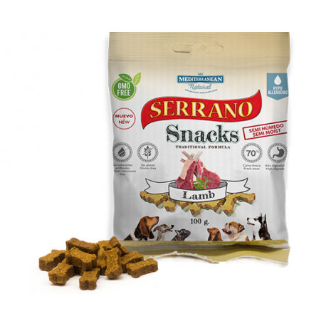 snack para perro serrano cordero