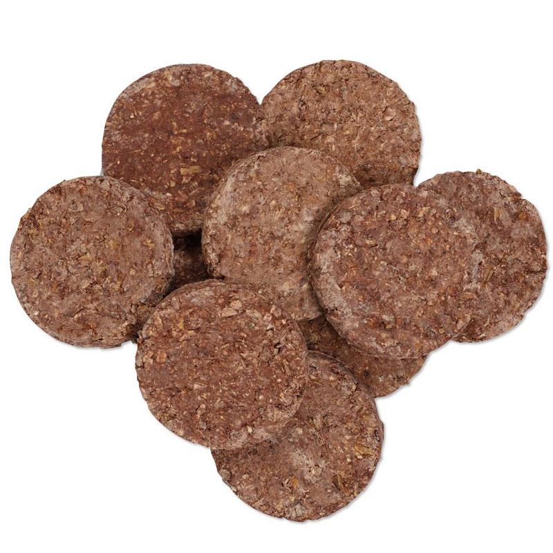 snack natural perro hamburguesa de tripa
