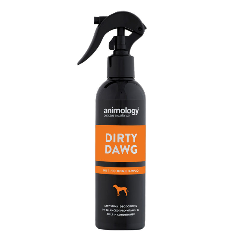 Spray champú lavado en seco Dirty Dawg 250 ml.