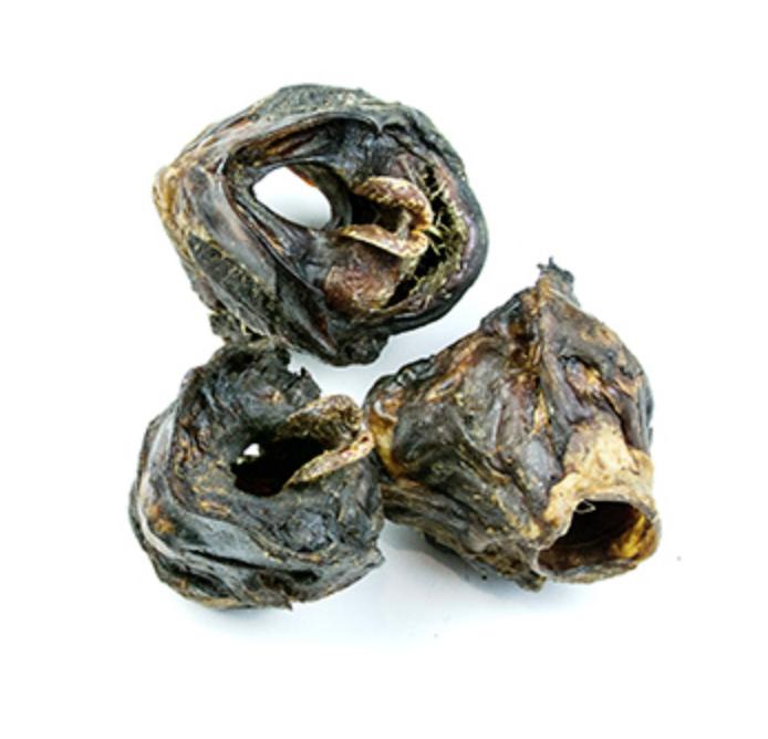 Snack natural de laringe de ternera