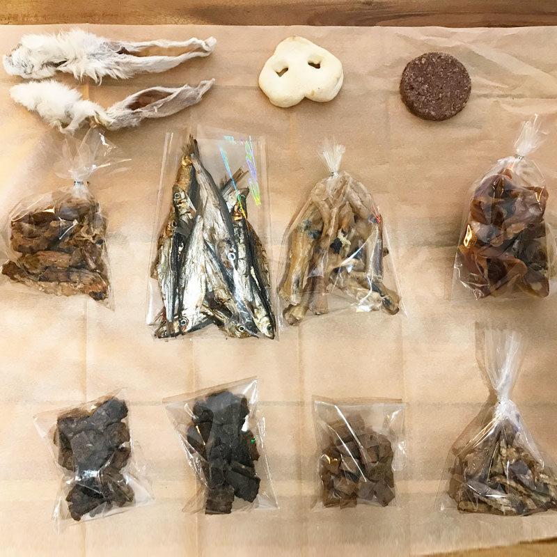 caja degustación snacks naturales perro pequeño