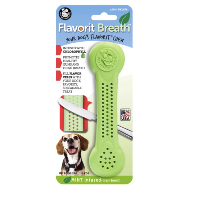 juguete para perros de menta