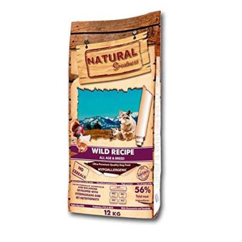 pienso natural greatness receta salvaje
