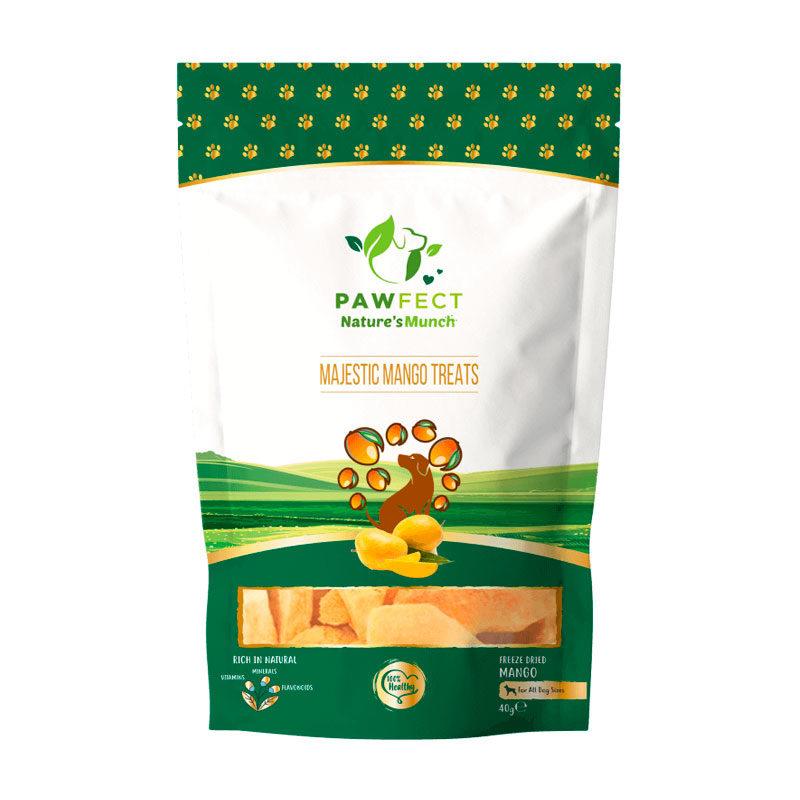 snack natural mango liofilizado