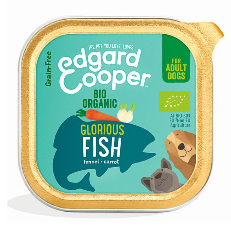 Tarrina de Edgard&Cooper de pescado orgánico