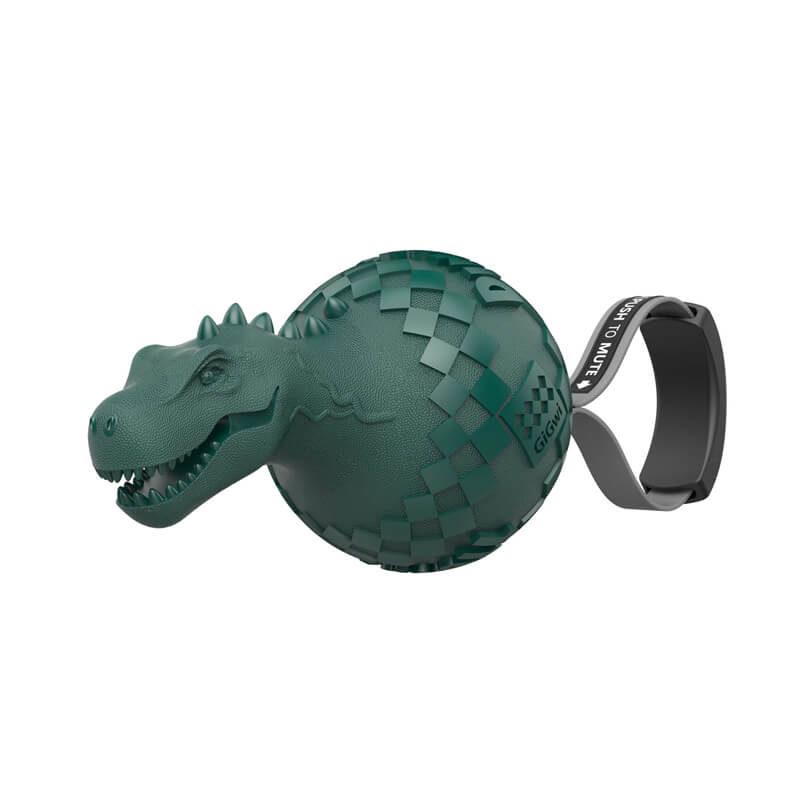 Pelota dinosaurio T-Rex silenciable