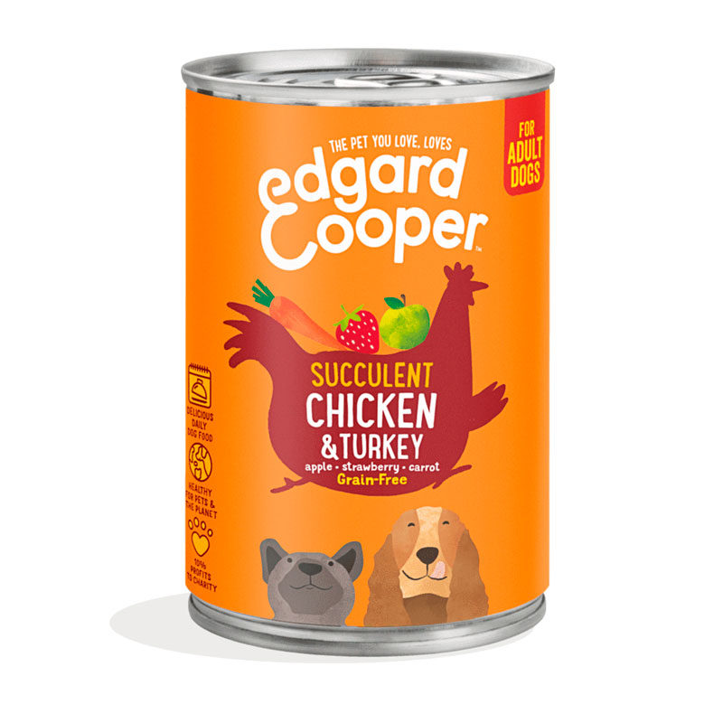 lata edgard & cooper pollo y pavo