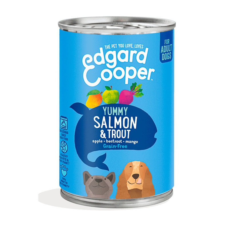 lata edgard & cooper salmon y trucha