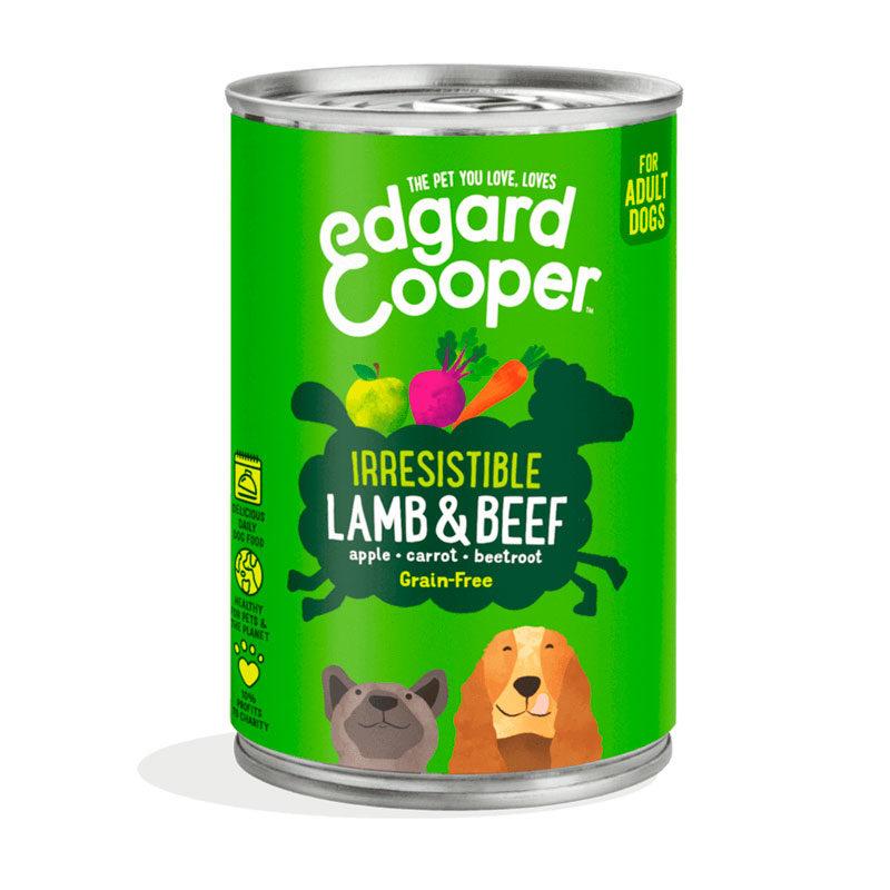 lata Edgard&Cooper cordero y carne de vacuno