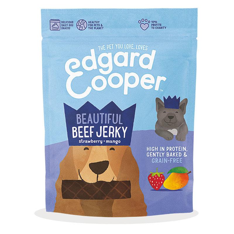 jerky de ternera Edgard & Cooper
