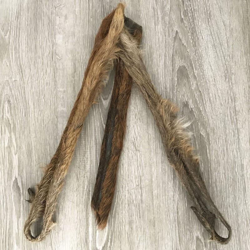 Stick de ciervo con pelo gigante