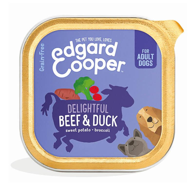 Tarrina ternera y pato Edgard&Cooper