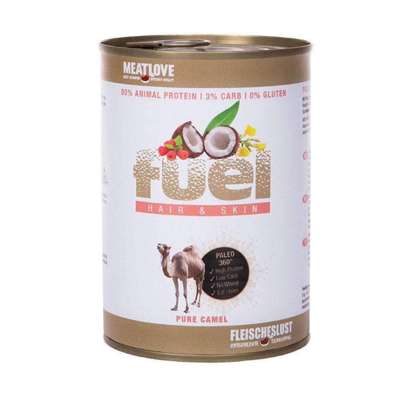 Lata Fuel camello
