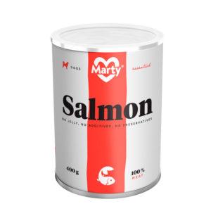 Lata Marty salmón