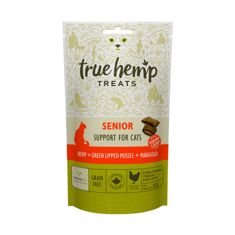 True Hemp Senior gatos