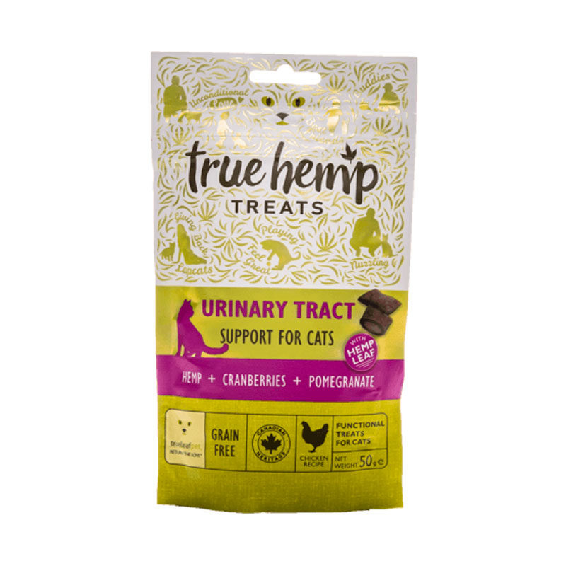 Snacks true hemp urinary tract gato