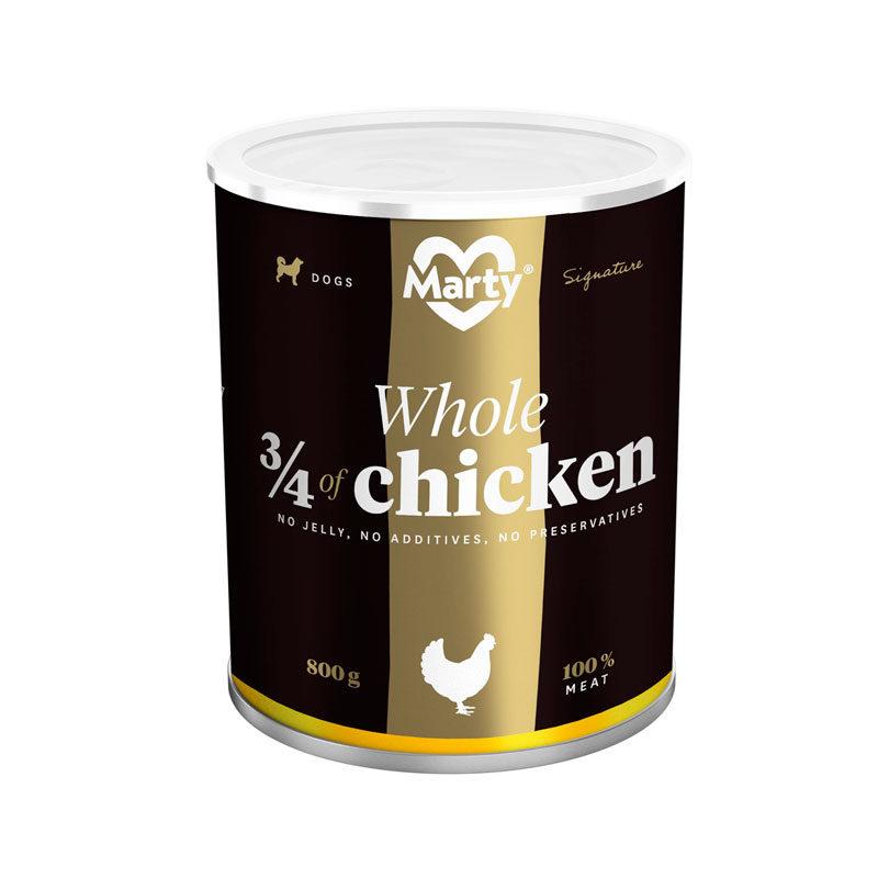 Lata 3/4 de pollo marty