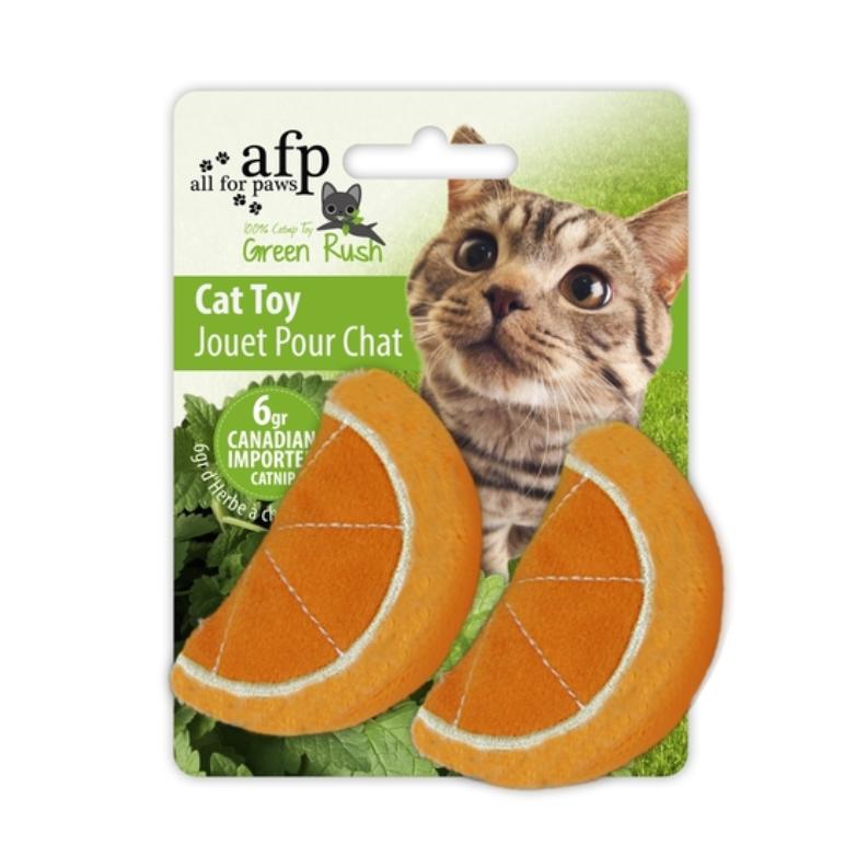 Juhuete gato naranja catnip