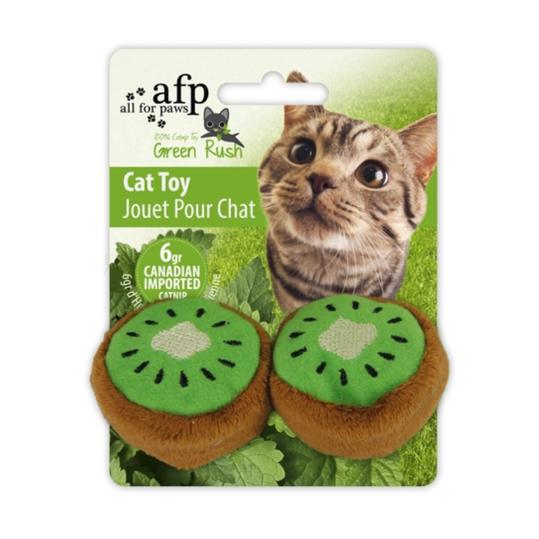 Juguete gato kiwi catnip