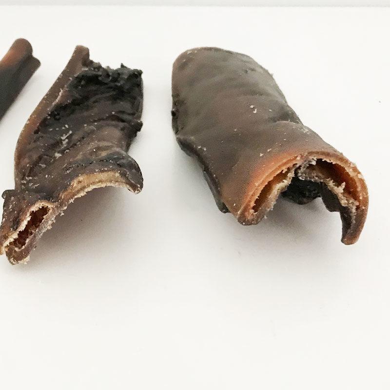 Snack natural de piel de búfalo