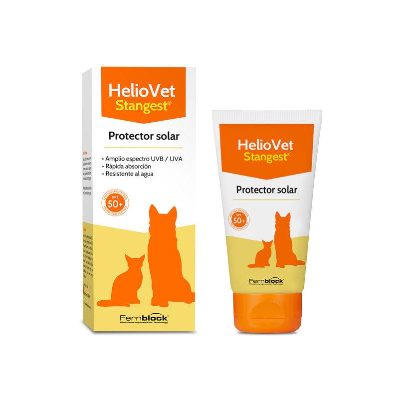 Protector solar para perrosy gatos heliovet