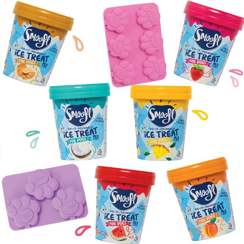Mix para helados de perro smoofl