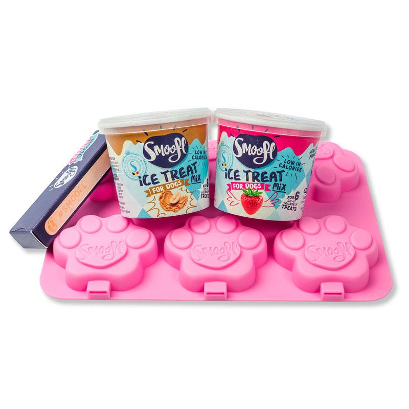 Starter kit helados para perros Smoofl
