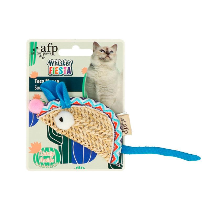 Juguete gato ratón Catnip
