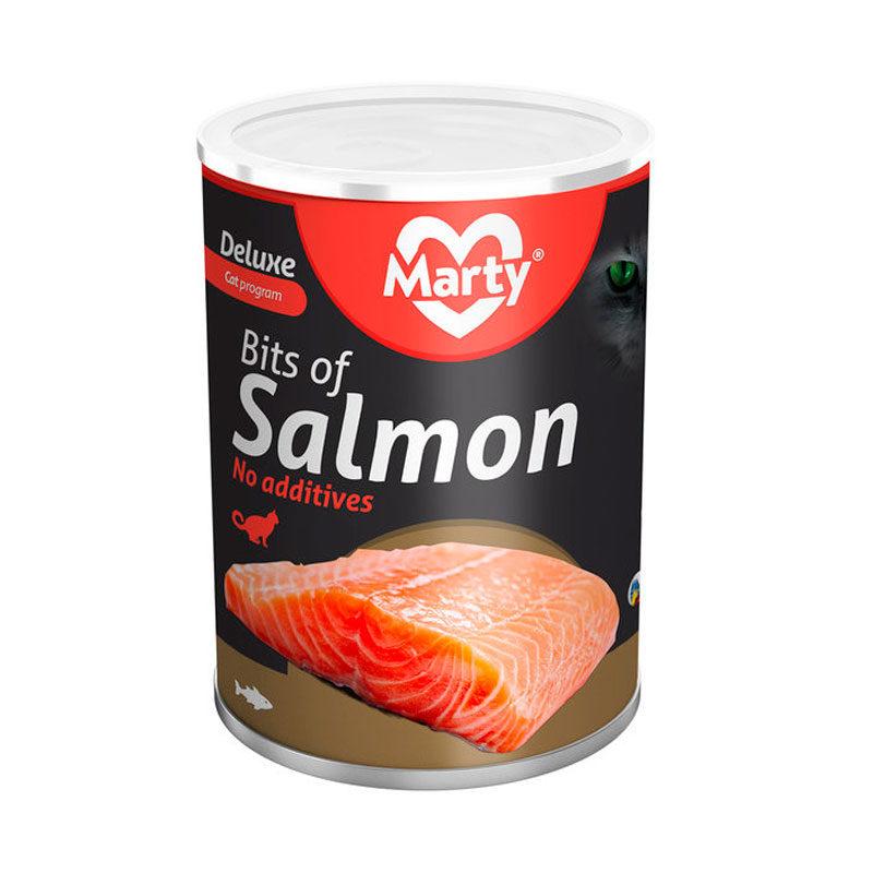 Lata Marty gatos bocaditos de salmón
