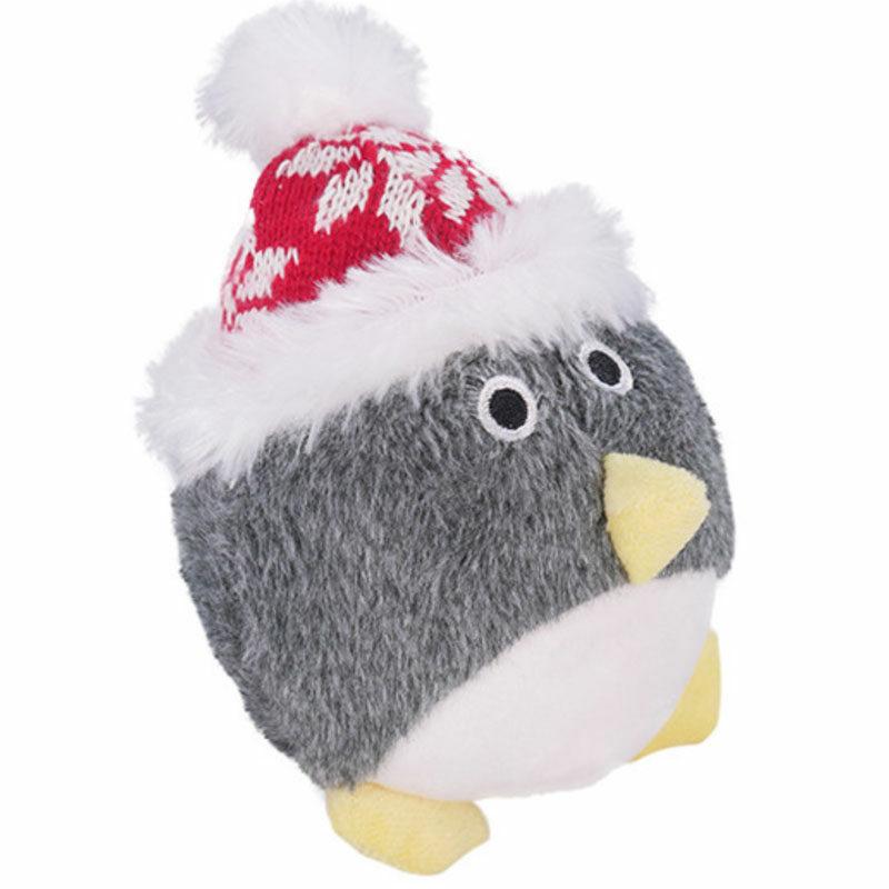 juguete navidad para perro pelota pinguino