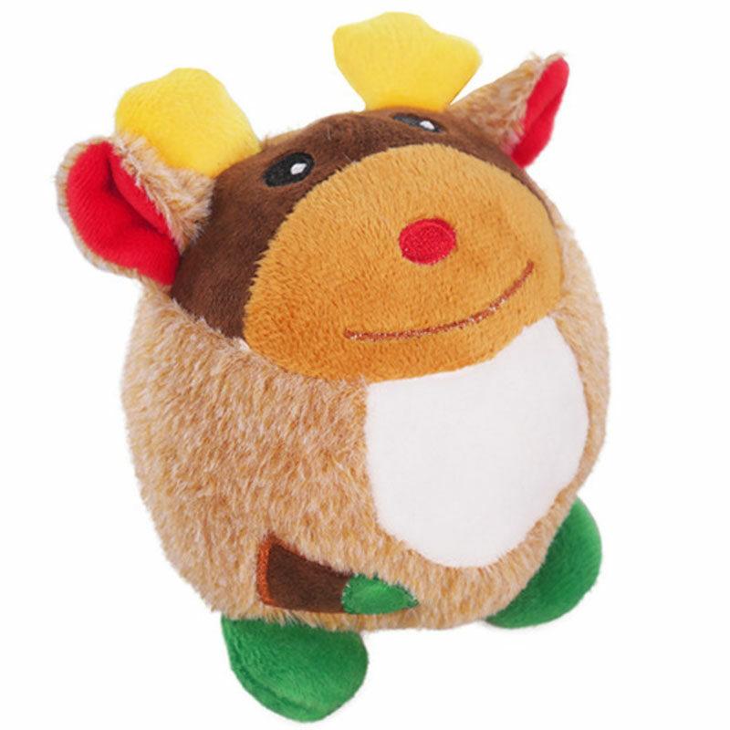 Juguete de navidad para perro pelota reno