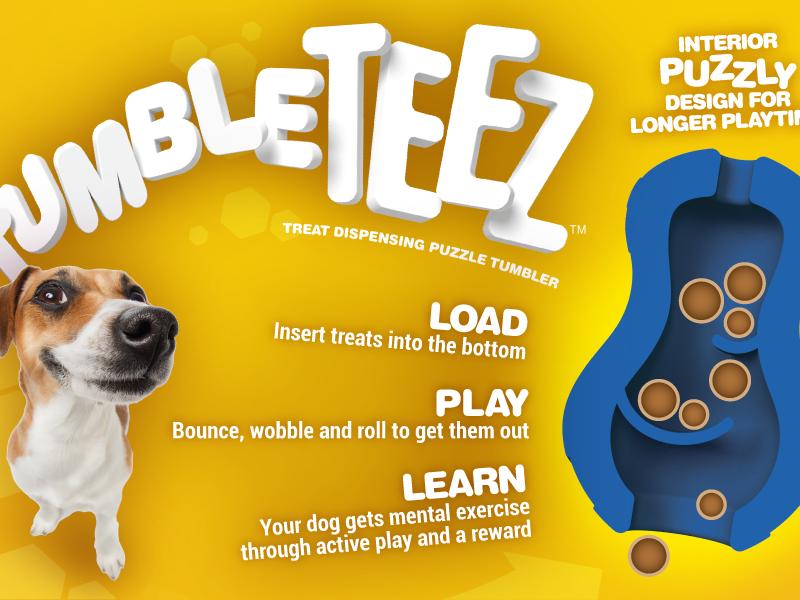 Tumble teez juguete interactivo