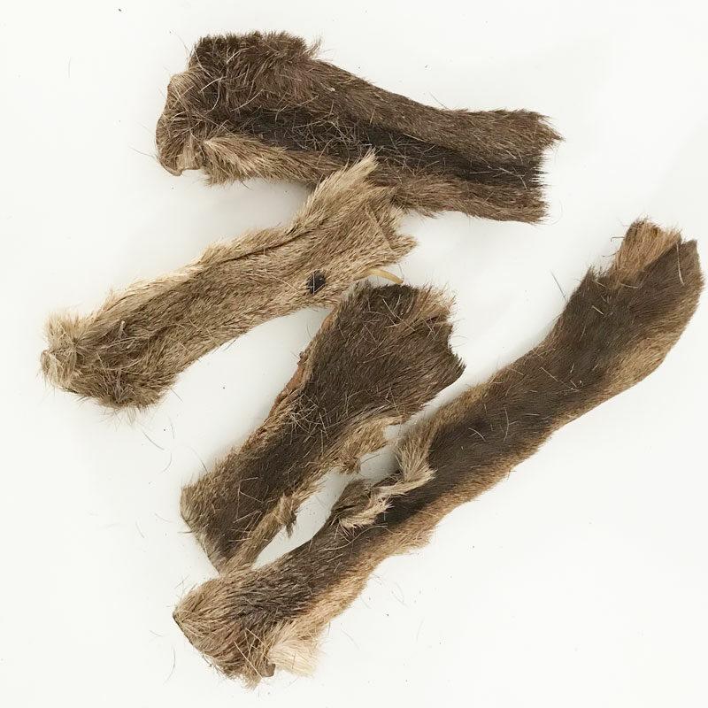Snack piel de ciervo con pelo