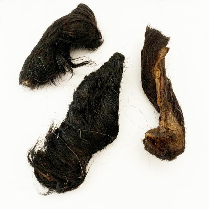 Snack piel de caballo con pelo