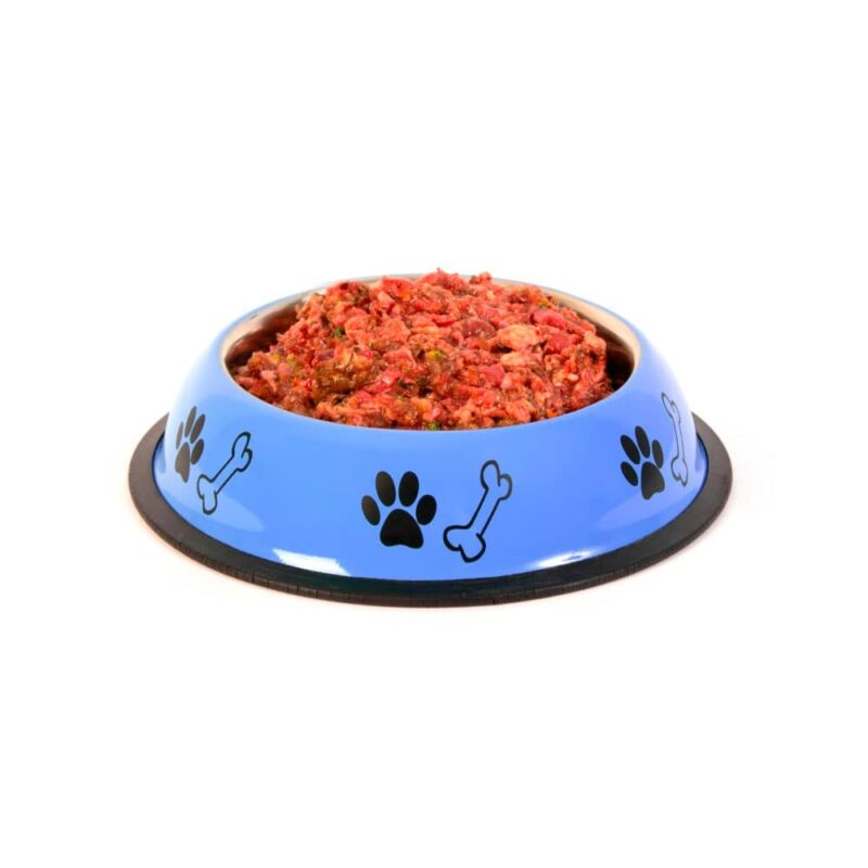 Dieta BARF para perros menú especial