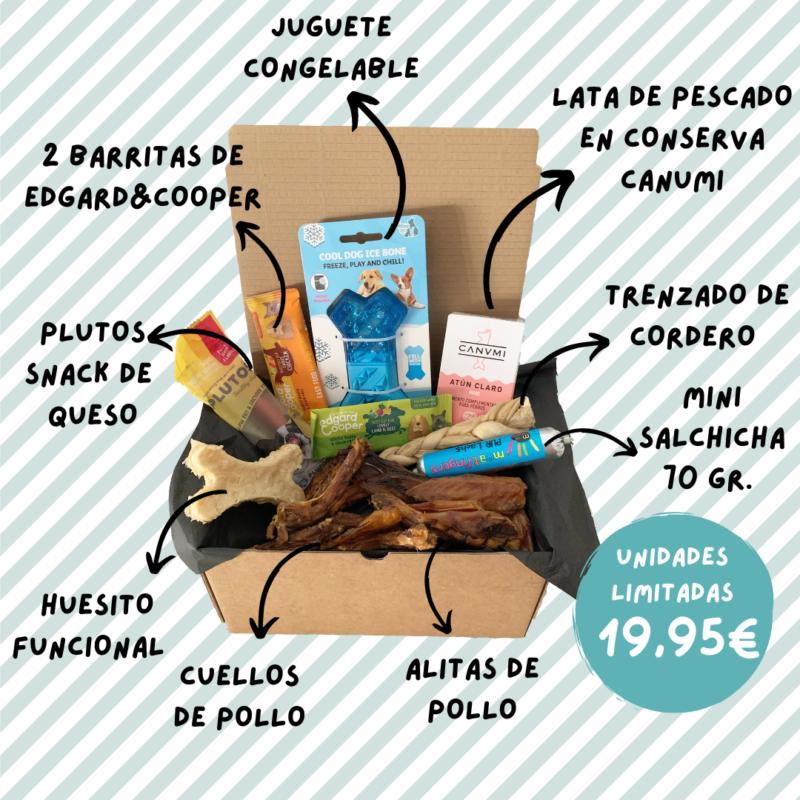 Caja mensual para perros