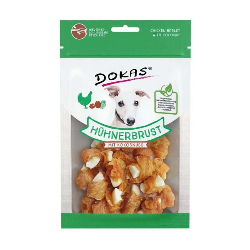 Snack perro pollo y coco