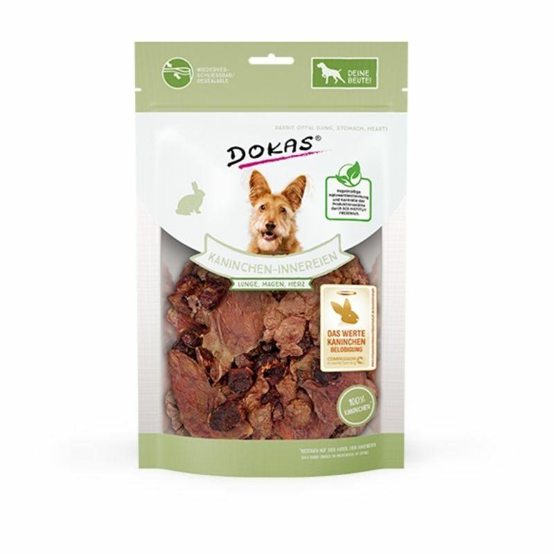 Snack perro visceras de conejo