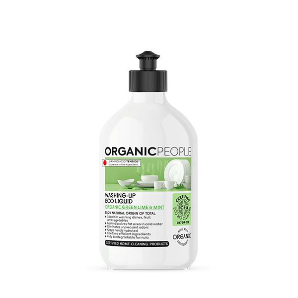 Lavavajillas ecologico menta y lima Organic People