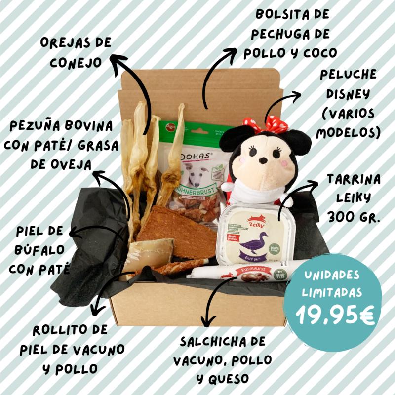 Caja mensual para mascotas