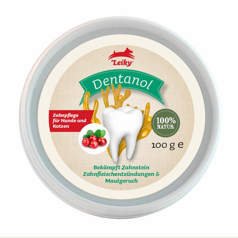 Suplemento para el sarro y el mal aliento perros dentanol
