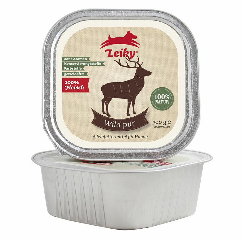 comida húmeda ciervo para perro Leiky