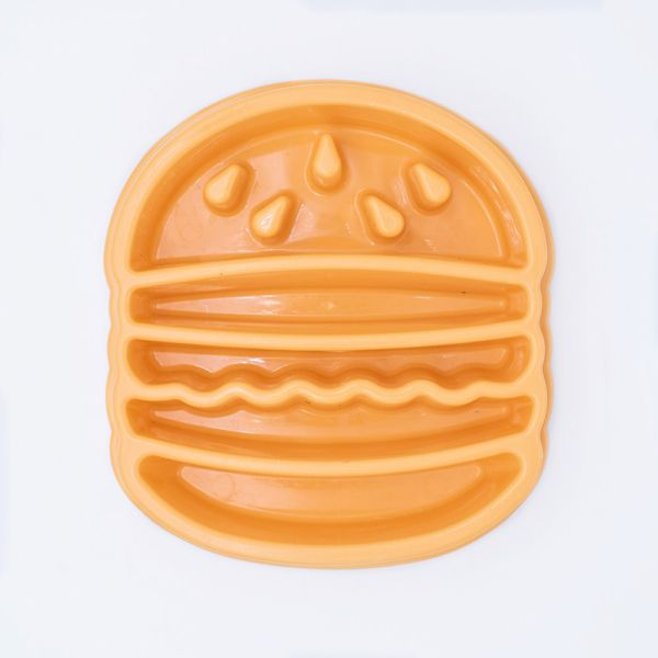 Comedero perro hamburguesa happy bowl zippy paws