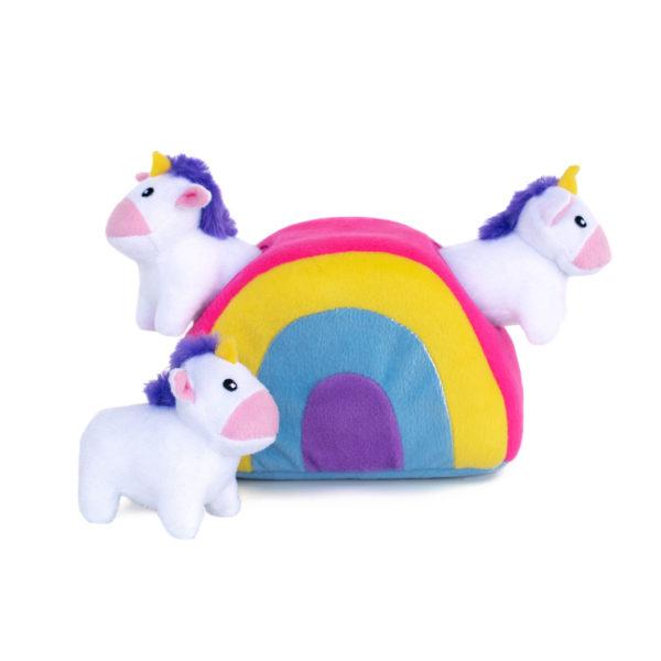 Zippy Burrow Arcoiris unicornios peluche