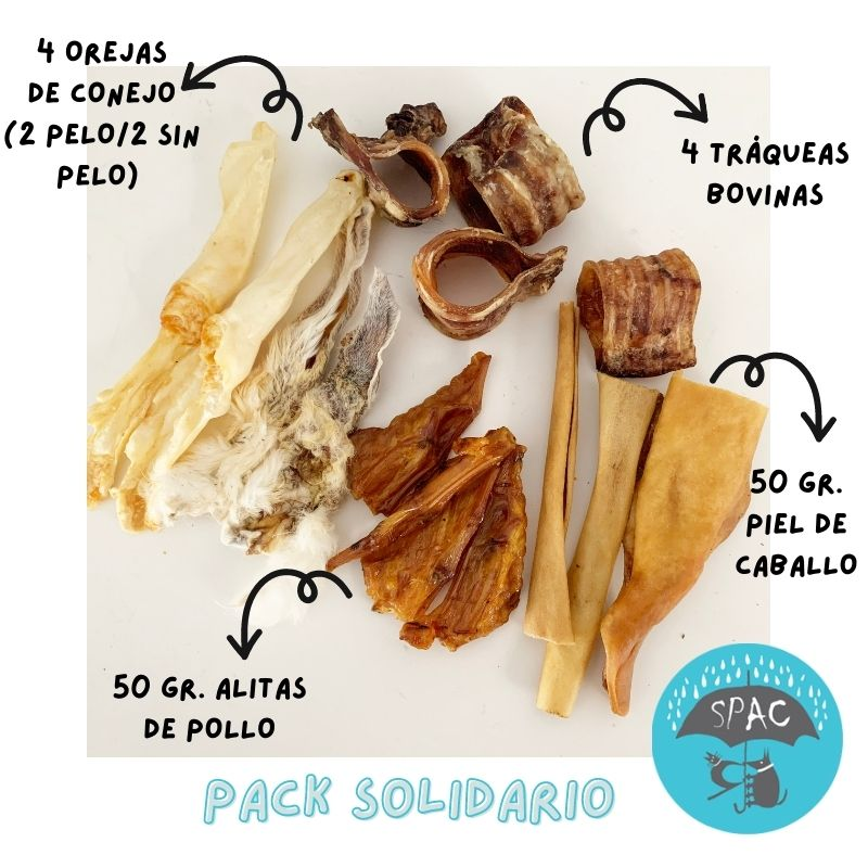 Pack snacks naturales protectora spac